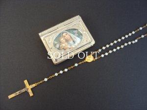 画像1: ミニクロス&ケース Mary & Jesus