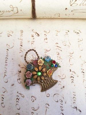 画像5: 花かごブローチ