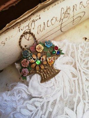 画像2: 花かごブローチ